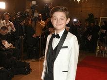 《奇迹男孩》童星诺亚·朱佩现身2018伦敦影评人协会奖红毯
