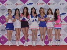 女團,AOA,韓國女團,人氣女團,新歌發布會,AOA發布會,