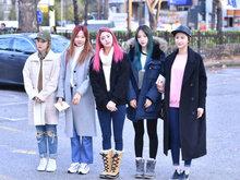 EXID,女团,韩国女团,EXID组合,街拍,