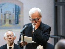 高畑勋告别仪式举办 宫崎骏导演流泪缅怀盟友几度哽咽