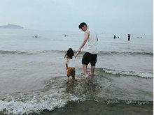 贾静雯带孩子休假 享受大自然对孩子们是最好的保养