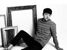 南柱赫,南柱赫写真,韩国男明星,欧巴,帅气,暖男,黑白写真,