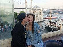安以轩庆祝结婚一周年 夫妇一起去浪漫的土耳其
