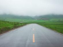公路沿途美景圖片 美如畫