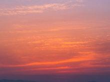 絢爛晚霞攝影圖片 美得不像話!