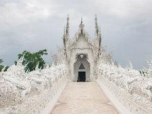 泰國名勝古跡攝影 宛若天空之城