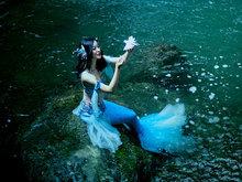美人鱼摄影作品 如此神秘莫测美的耀眼
