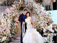 海一天大婚温馨浪漫 诸多圈内好友前来祝贺
