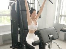 海清分享日常健身照 身材超好无赘肉