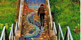 17个全世界最别具匠心的的艺术楼梯