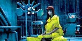诡秘莫测:充满科学怪人风格的时尚摄影