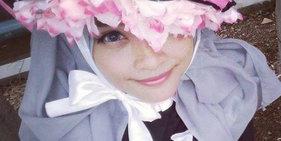 穆斯林少女突破头巾限制!扮成动漫角色不输各国Coser