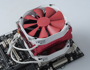 散热器中的非主流! C型CPU散热器性能图评