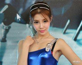 性感蓝衣 2013网博会网龙展台SG图赏