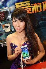 chinajoy2014金沙游戏展台美女图赏