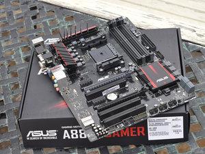 首款APU游戏主板 华硕A88X-GAMER主板高清图赏