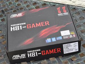 最便宜的游戏主板 华硕H81-PRO GAMER高清图赏
