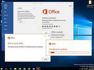 外媒曝光Office 2016 v16.0.4229.1017界面截图