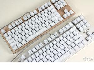 三轴可选 雷柏V500RGB背光游戏机械键盘图赏
