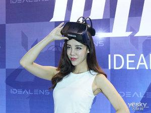 轻!戴起来就是快 IDEALENS K2 VR一体机现场图赏