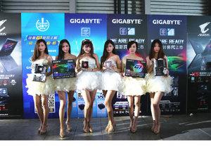 2016 chinajoy回顾 技嘉展台show girl集锦
