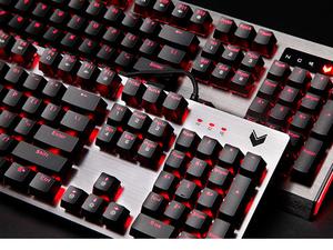 更强防水!雷柏V530L及V720L背光机械游戏键盘图赏