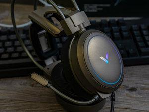 雷柏VH610虚拟7.1声道游戏耳机开箱图赏