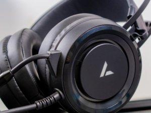 雷柏VH500虚拟7.1声道游戏耳机图赏