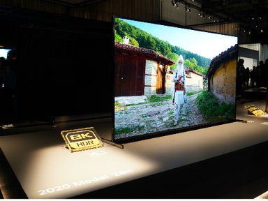 8K、OLED电视齐更新!索尼CES2020电视新品图赏