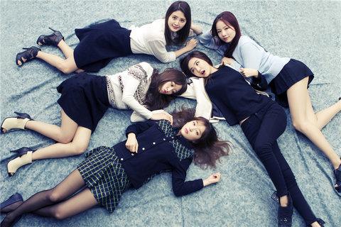 韩国女子组合EXID高清写真 少女魅力不可挡2