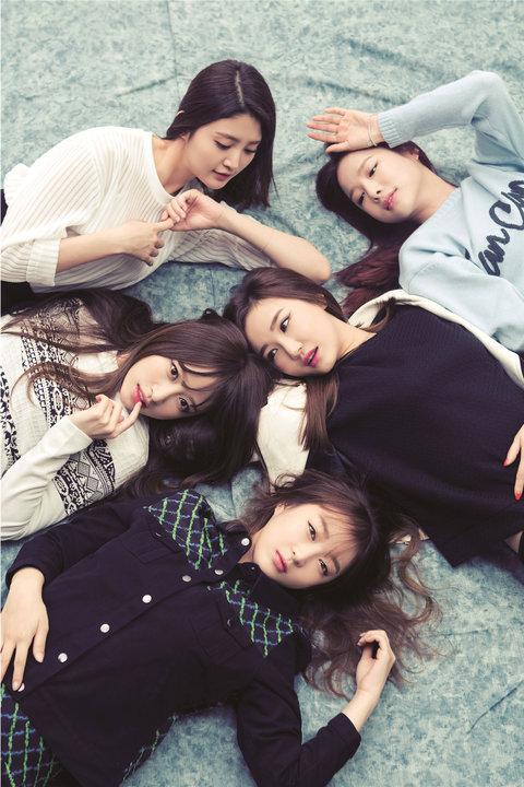 韩国女子组合EXID高清写真 少女魅力不可挡1