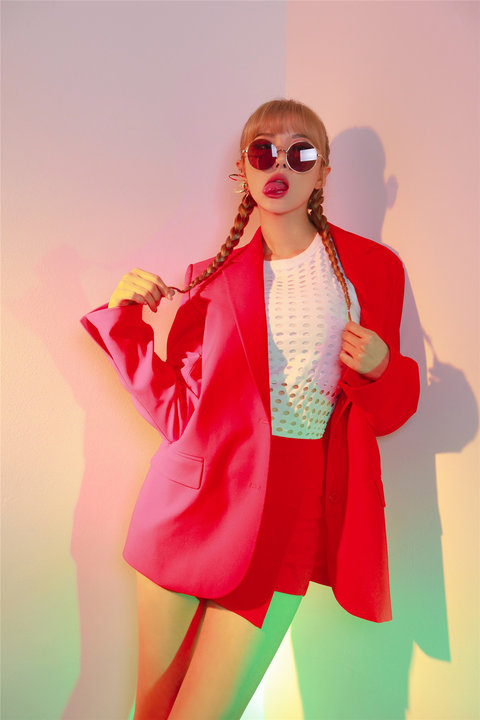韩国女子组合EXID高清写真 少女魅力不可挡9