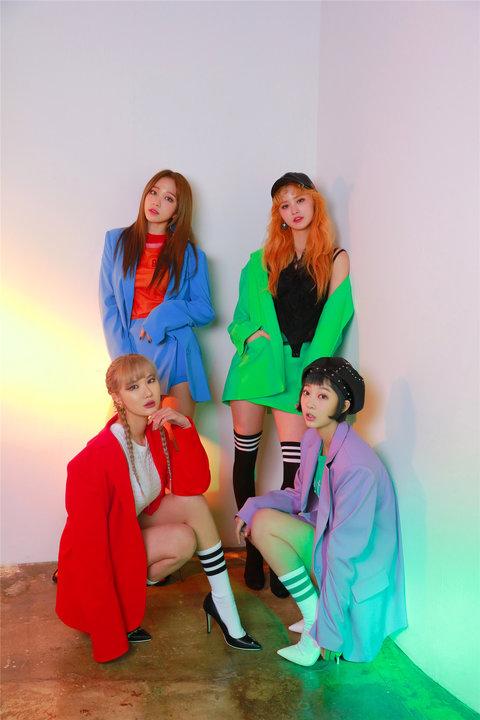 韩国女子组合EXID高清写真 少女魅力不可挡10