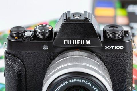 三向翻折时尚一拍 富士X-T100时尚无反相机图赏8