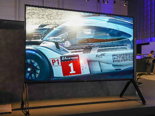 清晰度爆表!索尼首款8K电视Z9G现场体验