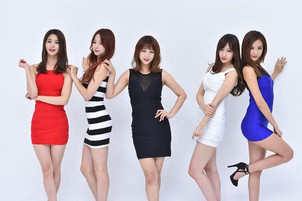 EXID代言海报曝光 小姐姐颜值爆表