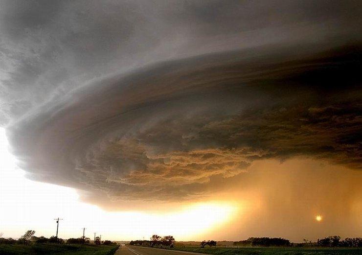 世界上最美最可怕的龙卷风