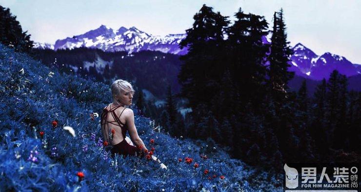 人像摄影:森林中的黑暗魔幻故事