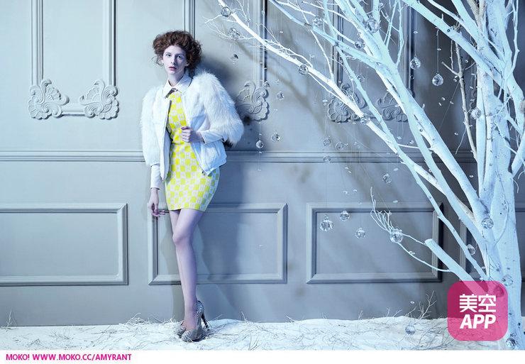 冰雪精灵-冷艳大片秀完美身材