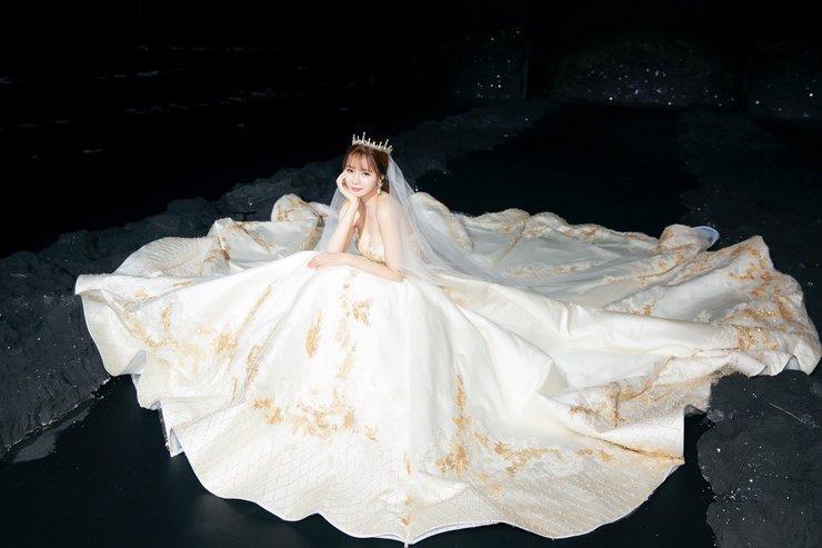 沈梦辰压轴某品牌的婚纱大秀 唯美大气楚楚动人