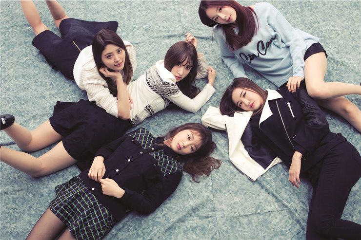 韩国女子组合EXID高清写真 少女魅力不可挡