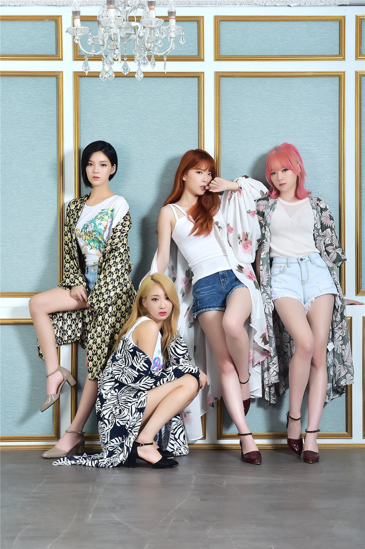 韩长腿女团Nine Muses高清写真 凹凸有致完美好身材