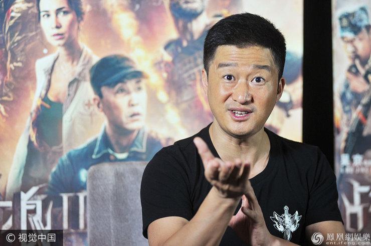 《战狼2》破48亿 吴京心情大好现场大送