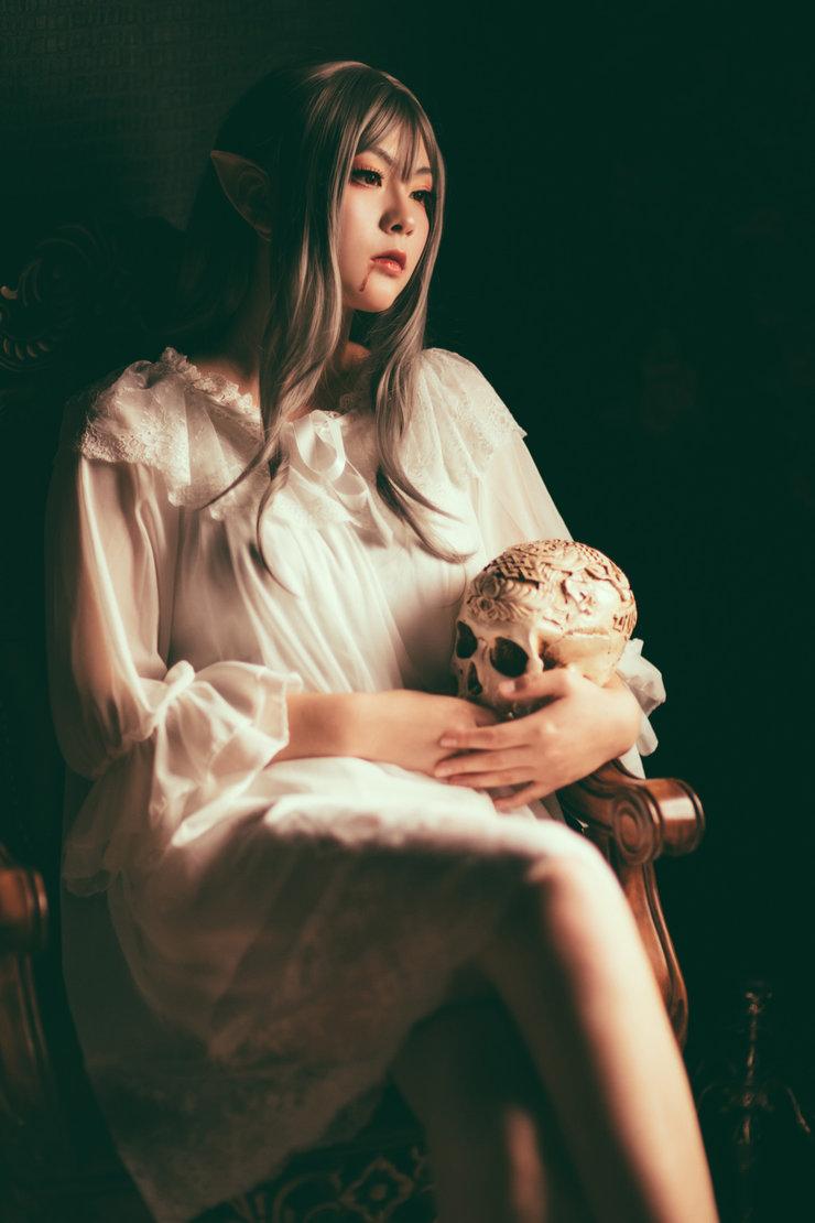 萝莉cosplay美图 演绎邪魅小精灵