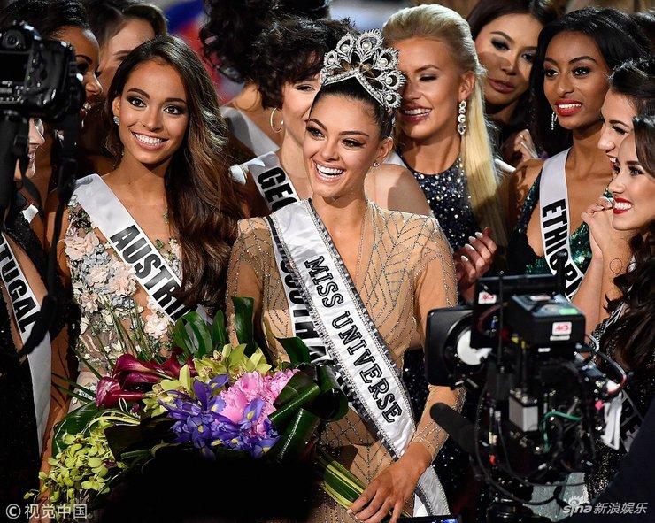 2017年环球小姐决赛举行 21岁南非佳丽夺环球小姐冠军