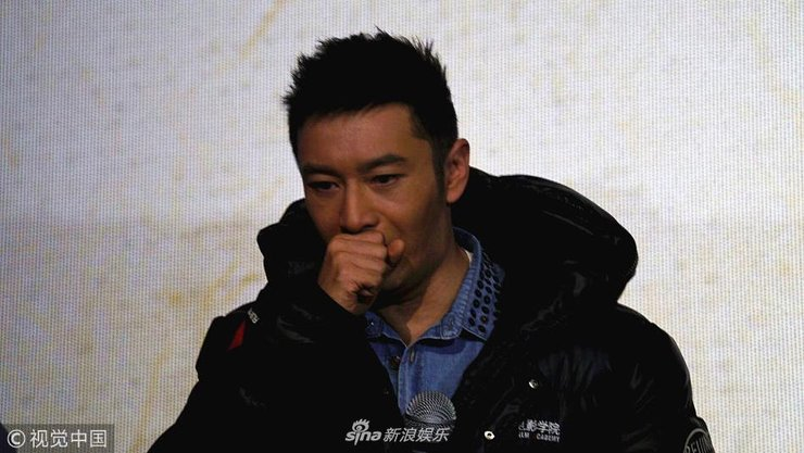 黄晓明带病宣传电影《无问西东》咳嗽不停 眼眶含泪冒虚汗依旧敬业