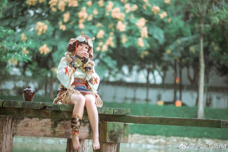 cosplay可爱摄影 剑侠情缘网络版叁 丐帮 秦风丐萝