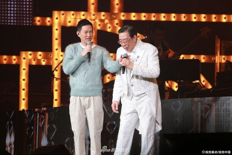 胡枫开演唱会又唱又跳十分卖力 张家辉站台张学友隔空助阵