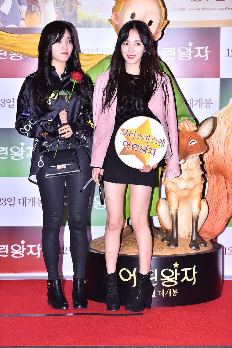 韩国气女团AOA高清美照 大长腿秀不停