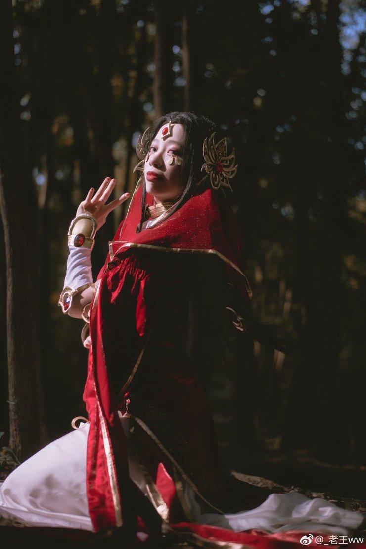 cosplay摄影福利 剑侠情缘网络版叁 红衣教圣女
